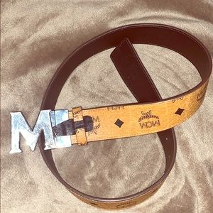 Authentic Men's MCM belt.